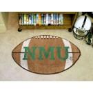"22"" x 35"" Northern Michigan Wildcats Football Mat"