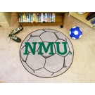 "27"" Round Northern Michigan Wildcats Soccer Mat"