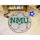 "27"" Round Northern Michigan Wildcats Soccer Mat"
