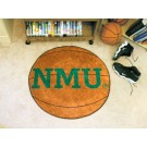 "27"" Round Northern Michigan Wildcats Basketball Mat"
