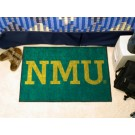 "Northern Michigan Wildcats 19"" x 30"" Starter Mat"