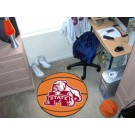 "27"" Round Mississippi State Bulldogs Basketball Mat"