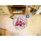 "27"" Round Mississippi State Bulldogs Soccer Mat"