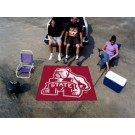 5' x 6' Mississippi State Bulldogs Tailgater Mat