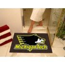 "34"" x 45"" Michigan Tech Huskies All Star Floor Mat"