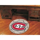 "St. Cloud State Huskies 27"" Round Soccer Mat"