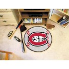 "St. Cloud State Huskies 27"" Round Baseball Mat"
