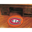 "St. Cloud State Huskies 27"" Round Basketball Mat"