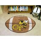 """22"""" x 35"""" Georgia Tech Yellow Jackets Football Mat"""