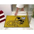 """34"""" x 45"""" Georgia Tech Yellow Jackets All Star Floor Mat"""