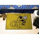 """Georgia Tech Yellow Jackets 19"""" x 30"""" Starter Mat"""