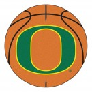 "27"" Round Oregon Ducks Basketball Mat"