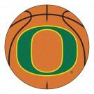 "27"" Round Oregon Ducks Basketball Mat"