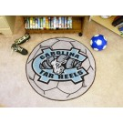 "North Carolina Tar Heels 27"" Round Soccer Mat"
