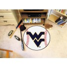 "27"" Round West Virginia Mountaineers Baseball Mat"