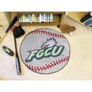 "27"" Round Florida Gulf Coast Eagles Baseball Mat"