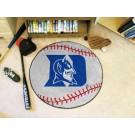 """27"""" Round Duke Blue Devils Baseball Mat"""