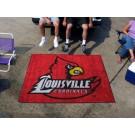 5' x 6' Louisville Cardinals Tailgater Mat