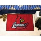 """Louisville Cardinals 19"""" x 30"""" Starter Mat"""