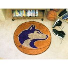 "27"" Round Washington Huskies Basketball Mat"