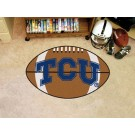 "22"" x 35"" Texas Christian Horned Frogs Football Mat"