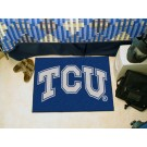 "Texas Christian Horned Frogs 19"" x 30"" Starter Mat"
