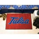 """Tulsa Golden Hurricane 19"""" x 30"""" Starter Mat"""