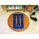 "27"" Round Tulsa Golden Hurricane Basketball Mat"