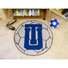 "27"" Round Tulsa Golden Hurricane Soccer Mat"