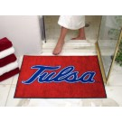 "34"" x 45"" Tulsa Golden Hurricane All Star Floor Mat"