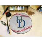 """27"""" Round Delaware Fightin' Blue Hens Baseball Mat"""