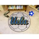 """27"""" Round UCLA Bruins Soccer Mat"""