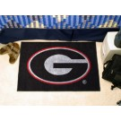"Georgia Bulldogs ""G"" 19"" x 30"" Starter Mat (Black)"
