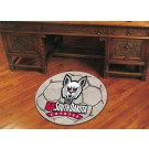 "27"" Round South Dakota Coyotes Soccer Mat"