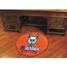 "27"" Round South Dakota Coyotes Basketball Mat"