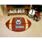 "22"" x 35"" South Dakota Coyotes Football Mat"