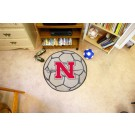 "29"" Round Nicholls State University Colonels Soccer Mat"