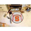 "27"" Round Syracuse Orange (Orangemen) Baseball Mat"
