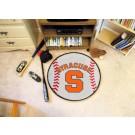 "27"" Round Syracuse Orange (Orangemen) Baseball Mat"
