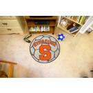 """27"""" Round Syracuse Orange (Orangemen) Soccer Mat"""