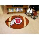 """22"""" x 35"""" Utah Utes Football Mat"""
