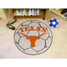 """27"""" Round Texas Longhorns Soccer Mat"""