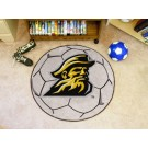 "27"" Round Appalachian State Mountaineers Soccer Mat"