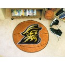 "27"" Round Appalachian State Mountaineers Basketball Mat"