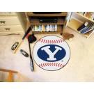 "27"" Round Brigham Young (BYU) Cougars Baseball Mat"