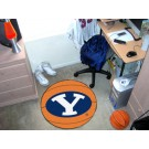 "27"" Round Brigham Young (BYU) Cougars Basketball Mat"