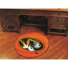 "27"" Round Missouri Tigers Basketball Mat"