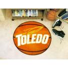 "27"" Round Toledo Rockets Basketball Mat"