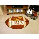 """22"""" x 35"""" Toledo Rockets Football Mat"""