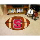 "22"" x 35"" North Carolina State Wolfpack Football Mat"